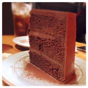 濃厚なチョコケーキ♡