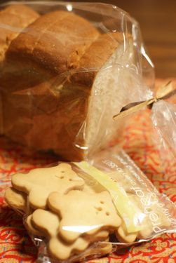 クッキーと食パン