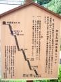 H26.9.12伊豆山神社参道案内図@IMG_2149