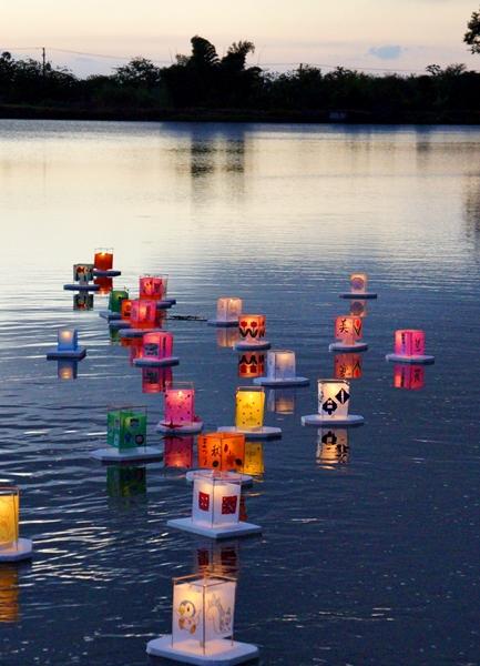 0-秋祭り2014年 灯篭流し