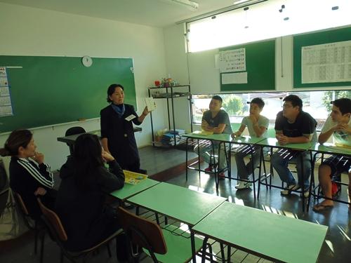 モデル校の体験授業4