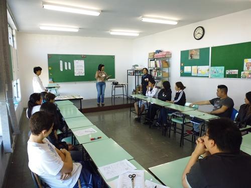 モデル校の体験授業2