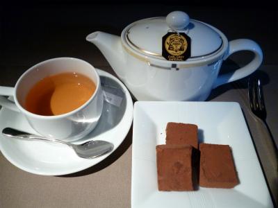 チョコと紅茶
