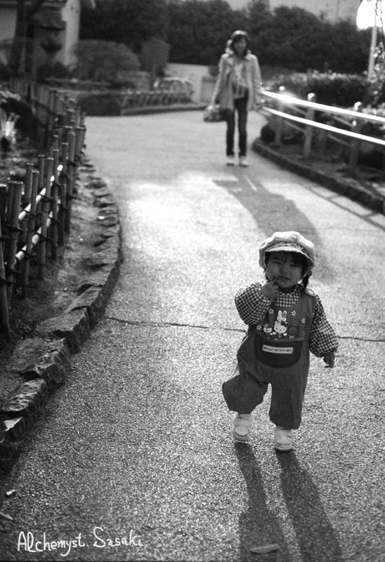 2007年3月23日 戸越公園にて