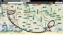 20140412 名古屋から豊田市の図