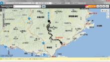 20140525 小川~古座川 漕行程