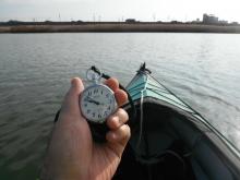 鉄道時計 オンザリバー 20140119