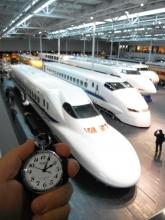 鉄道時計と新幹線 20140119
