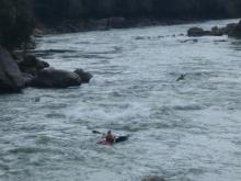 瀬田川の激流2 20140322