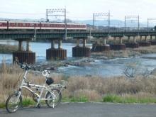 木津川 近鉄鉄橋 ハザードポイント 20140322