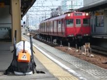 20140412 名鉄豊田市駅猿投線ホーム