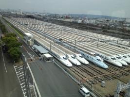 新幹線鳥飼車両基地