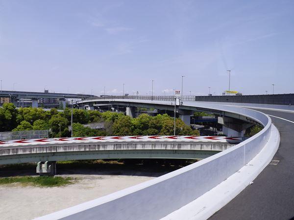 阪神高速へ