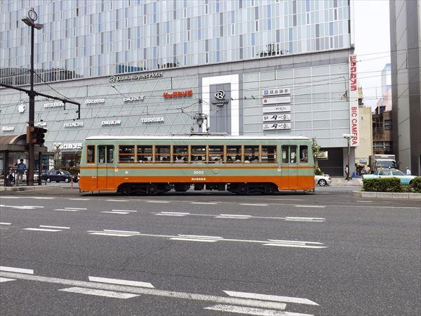 岡山駅前出発