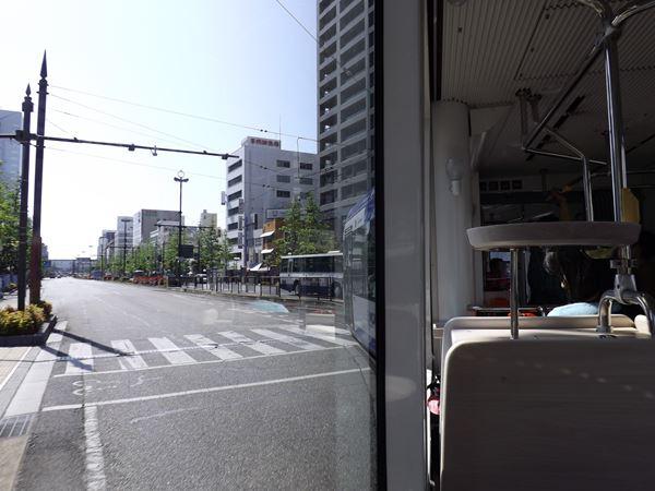 岡山駅前へ