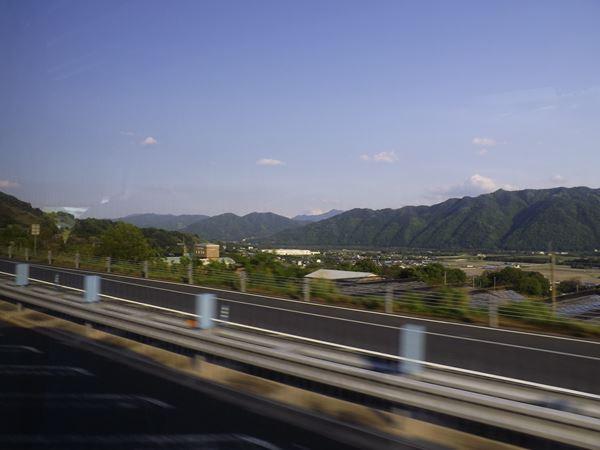 吉野川のもたらす地形