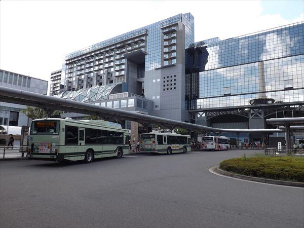 旅立ちは京都駅