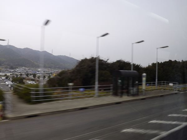 西淡志知バス停