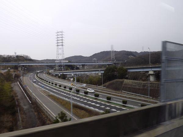阪神高速7号線へ