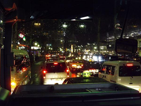 交通量多い