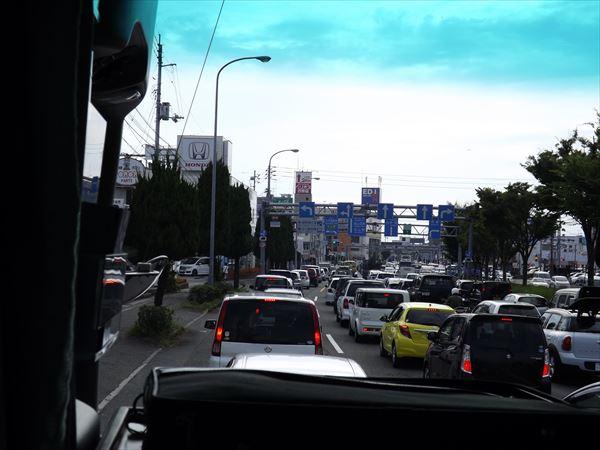 相変わらず渋滞
