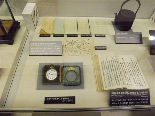 日露戦争関連の展示