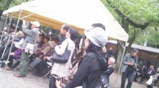 鴻池薫@靖国神社・春期例大祭