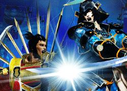 紺碧の双刃