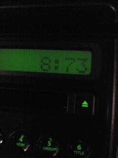 車の時計3