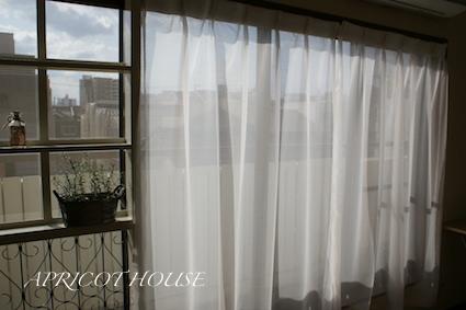 140303レースのカーテン