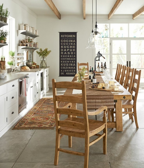 A day at the spa for Pottery barn style kitchen ideas