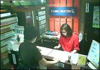 ネットカフェ店内風景