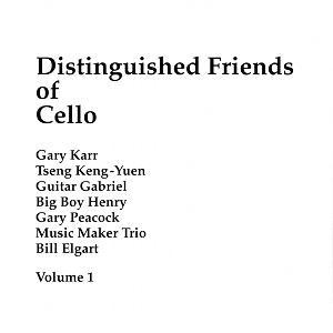 distinguished friends of cello vol1
