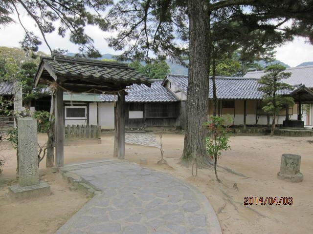 吉田松陰が幽閉されていた家