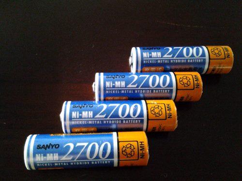 サンヨー充電池