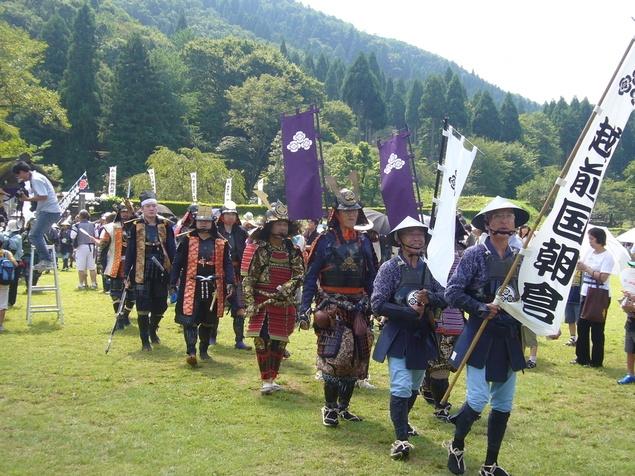 朝倉戦国祭り行列
