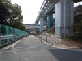 140309鳥飼大橋から中央環状沿いへ2