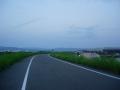 160723夕暮れ近い木津川CRを南下