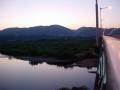 160812玉水橋を渡り大正池へ