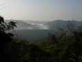 140419殻池峠から鷲峰山へ。和束側の眺望