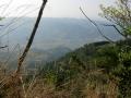 140419金胎寺から犬打峠への下り。和束側の眺望