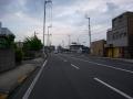 140501高松東フェリー港からスタート。一路南下。