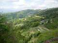 140501阿讃中央広域農道/県道106から山腹の集落眺望