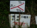 140501阿讃中央広域農道からこの看板で迷走(^^;