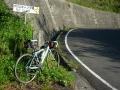 140502大川山へ2。最初のヘアピン