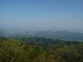 140502大川山へ。展望台からの眺望1