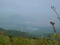 140502大川山へ。展望台からの眺望2(象頭山と満濃池)