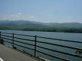 140502満濃池.4、自転車歩行者道から満濃池