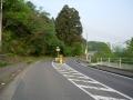 140503国道438号を快走.2、天川神社前