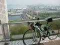140503聖通寺山.展望台から瀬戸大橋方面の眺望